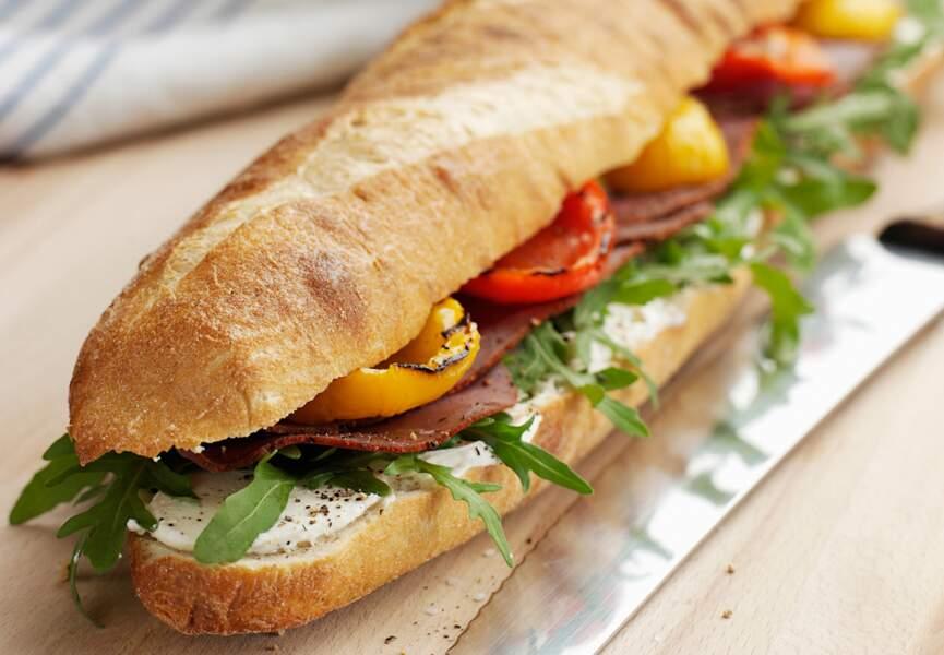 Sandwich aux saveurs du Sud