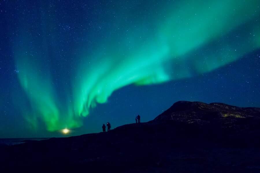 Escapade nocturne, toujours à Tromso