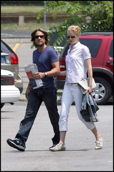 Nicole Kidman et le musicien Keith Urban....