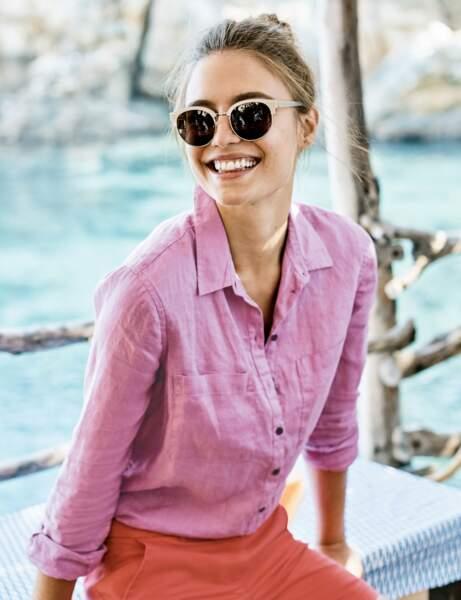 La chemise rose