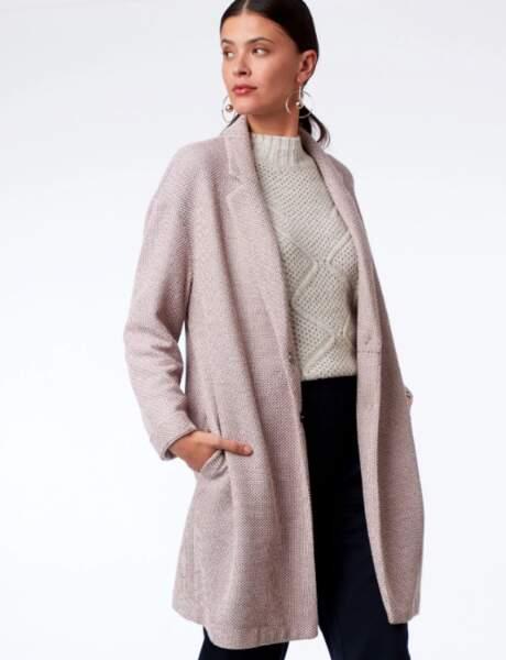 Manteau tendance: nude