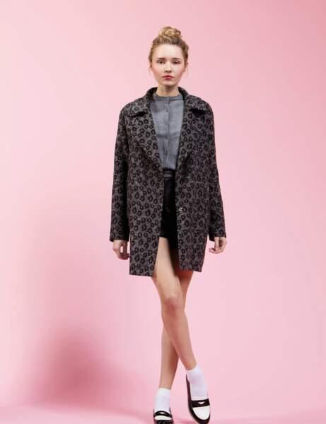 Manteau : léopard