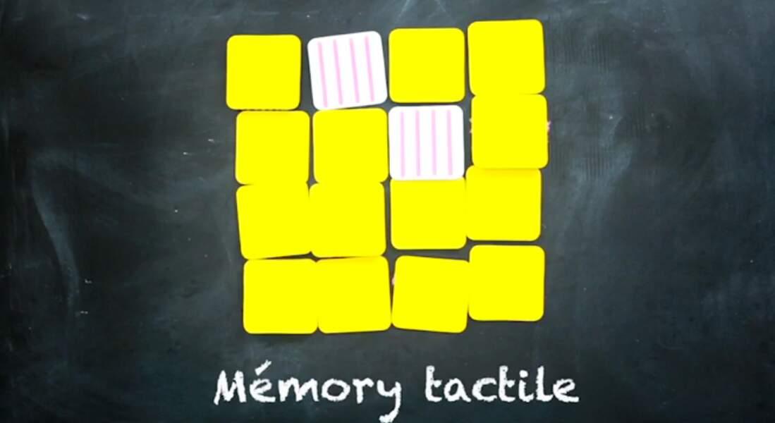 Un jeu de mémory tactile et récup'