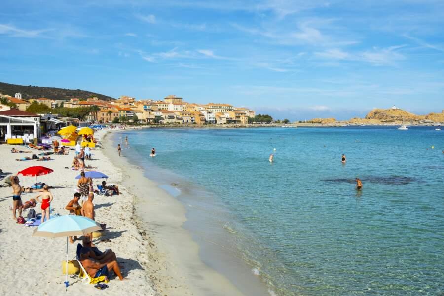 #14 Plage de l'Ile Rousse, Corse
