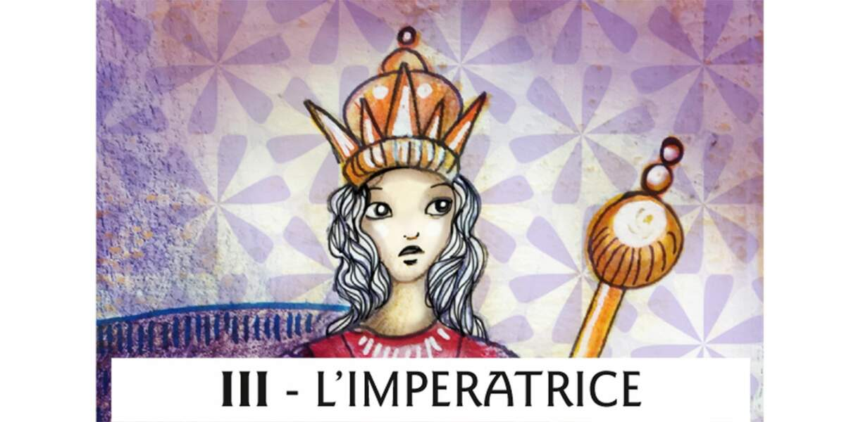 Tarot de Marseille : l'Impératrice