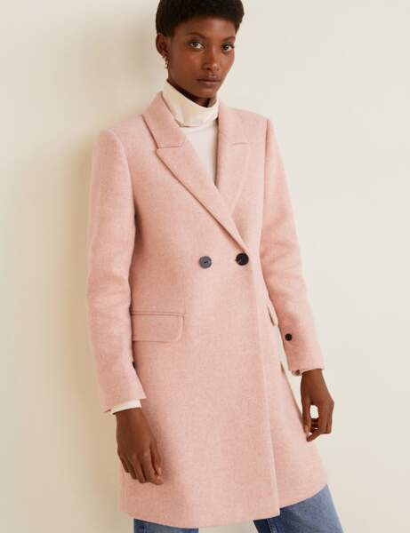 Manteau tendance: pastel