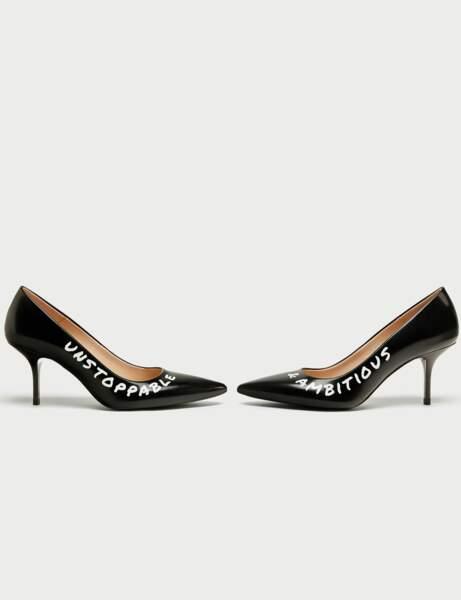 Mode à message : les chaussures de working girl