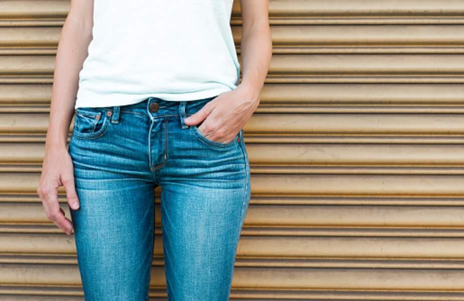 Les jeans slim