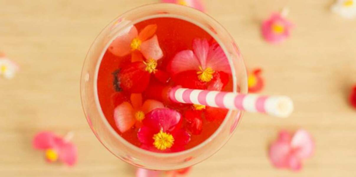 Spritz aux cranberries
