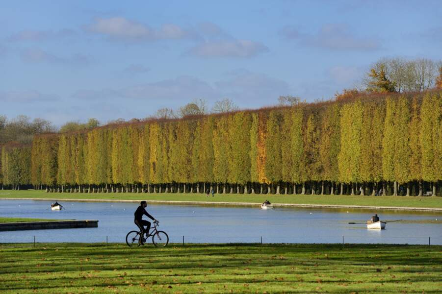 À Versailles, déplacez-vous dans le parc et savourez l'air frais
