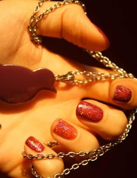 Le nails art pailletté