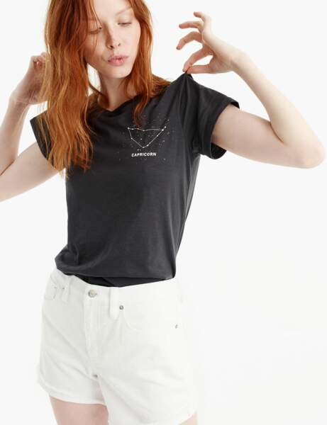 Tee-shirt astro : Capricorne