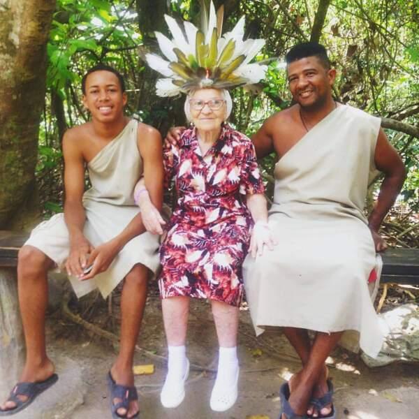 Elle a récemment atterri en République dominicaine, où elle vient de fêter son 90e anniversaire