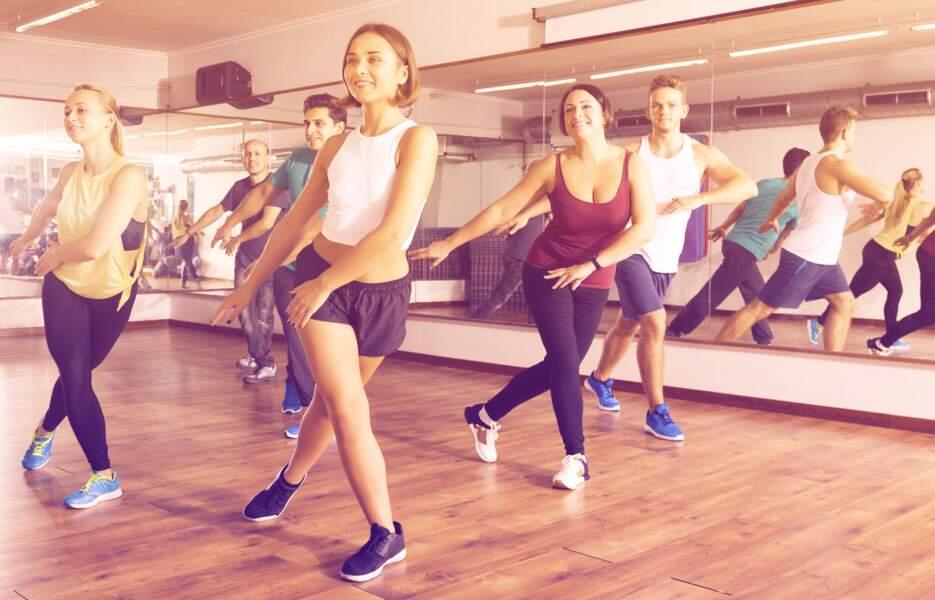 Un cours de danse