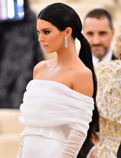 La queue de cheval XXL de Kendall Jenner