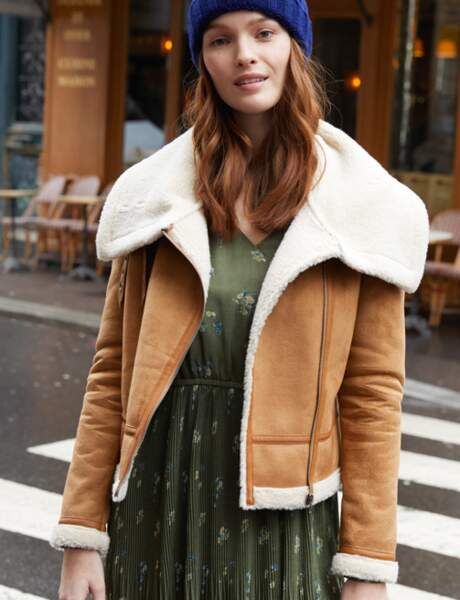 Manteau tendance: bombardier