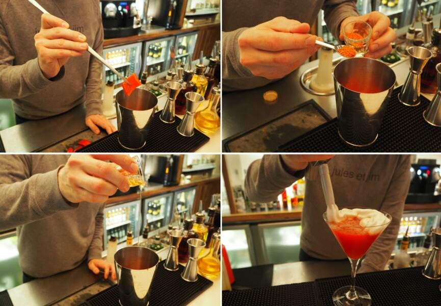 Le cocktail « Femme Actuelle »