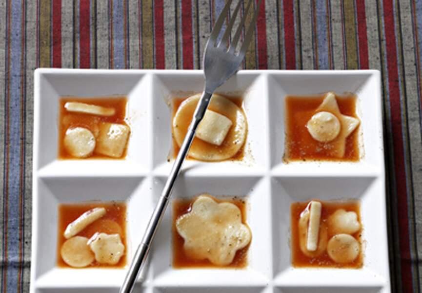 Pâtes fraîches à la sauce tomate
