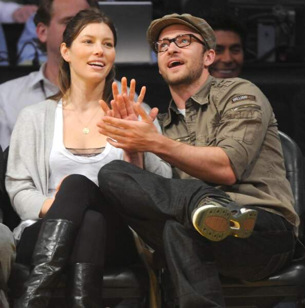 Justin Timberlake et Jessica Biel...