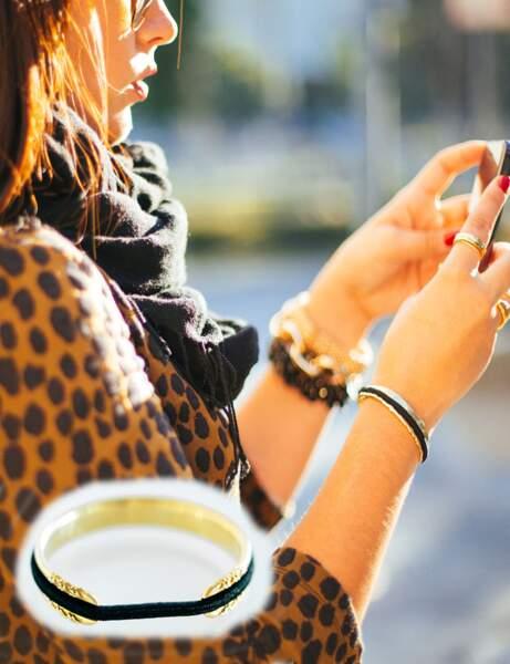 Bracelet porte-élastique