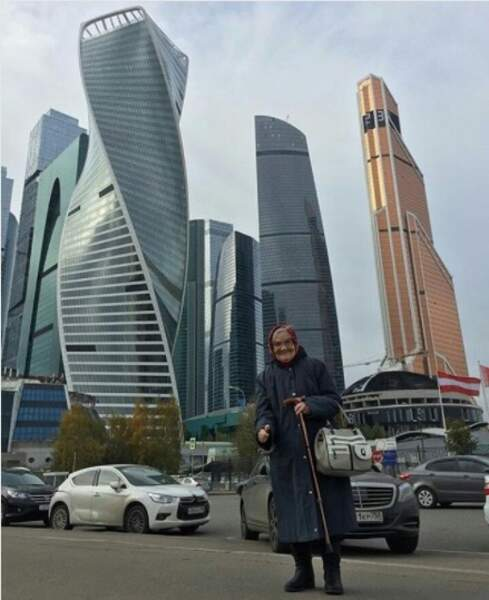 L'autre visage de la capitale russe
