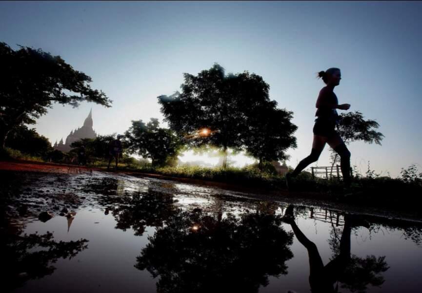 4 – Le Bagan Temple Marathon en Birmanie
