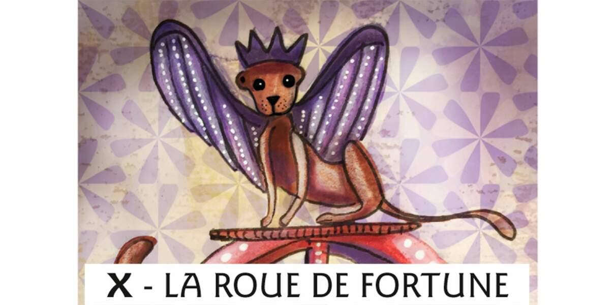 Tarot de Marseille : la Roue de la fortune