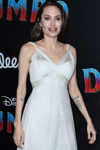 Angelina Jolie à la première de Dumbo à Hollywood, le 11 mars 2019
