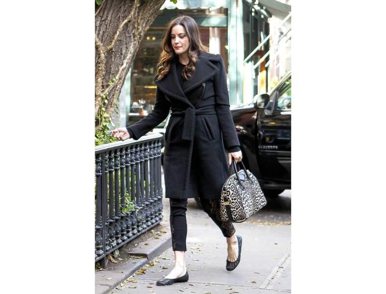 Liv Tyler : le sac léopard