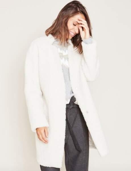 Manteau tendance: mouton