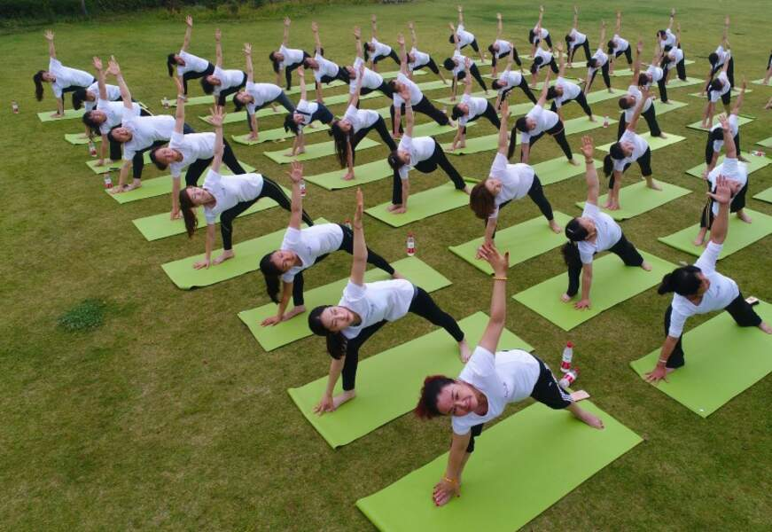 Yoga Day : la prof de yoga la plus âgée du monde aurait 98 ans