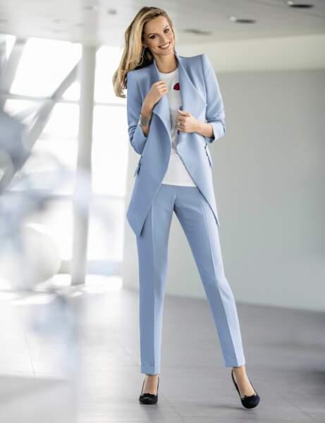 Pantalon de tailleur : pastel