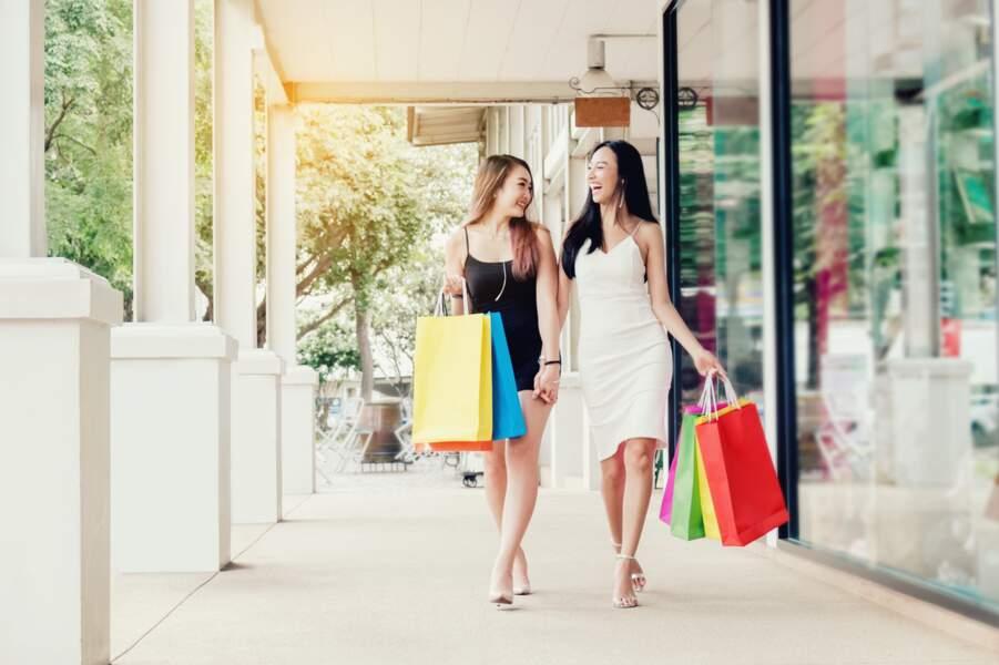 Un après-midi shopping
