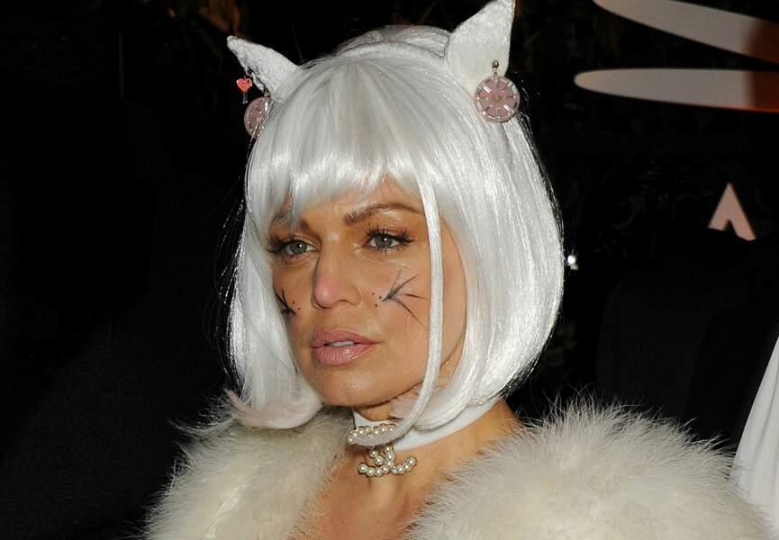 Le look Pussy cat de Fergie
