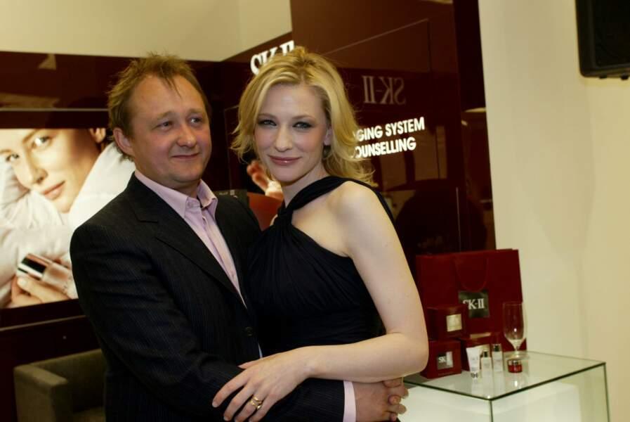 Cate Blanchett et Andrew Upton...