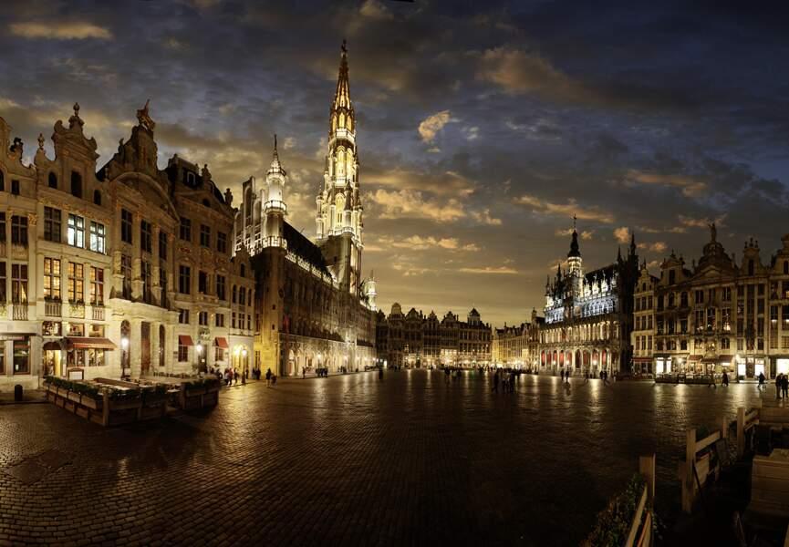 Admirez La Grand-Place de Bruxelles