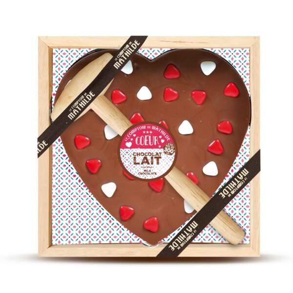 Love chocolate du Comptoir de Mathilde