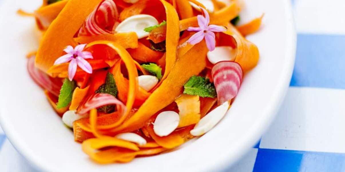 Salade de potimarron et betterave