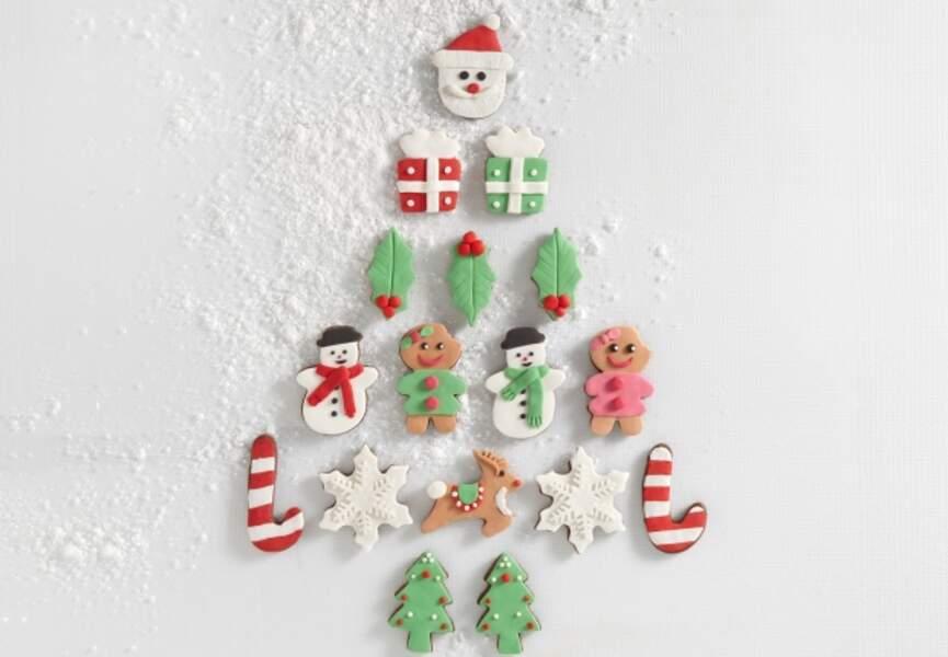 Des sugar cookies de Noël