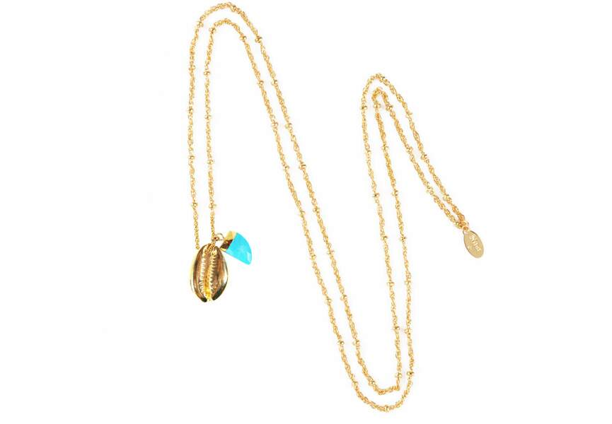 """Tendance bijoux """"stacking"""" : le collier turquoise"""