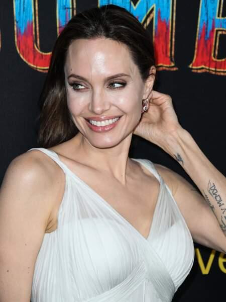 Angelina Jolie à la première de Dumbo, à Los Angeles, le 11 mars 2019