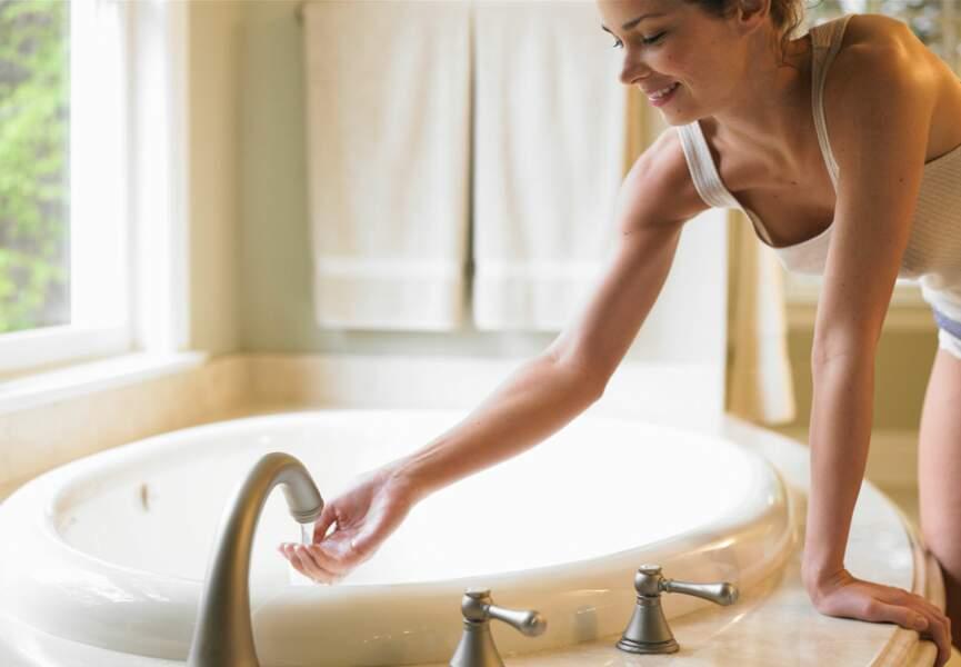 Infusion de bain détoxifiante et anticellulite
