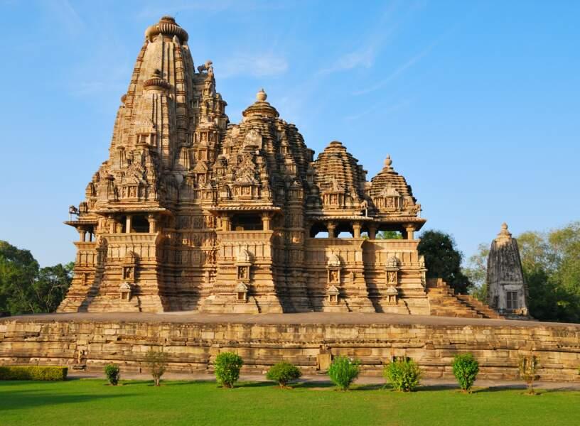 Temple à  Khajuraho