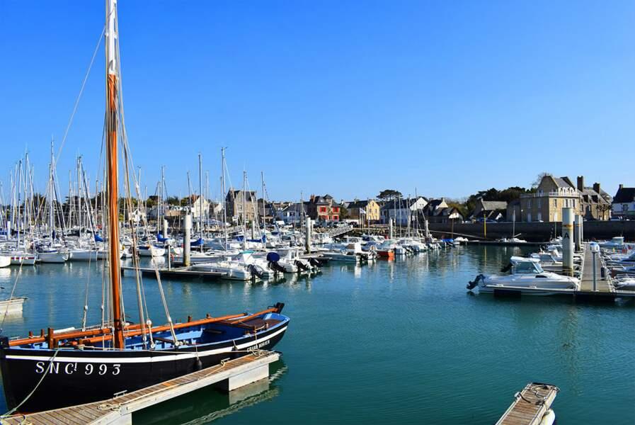 Piriac-sur-Mer, village breton situé à la pointe de la presqu'île guérandaise