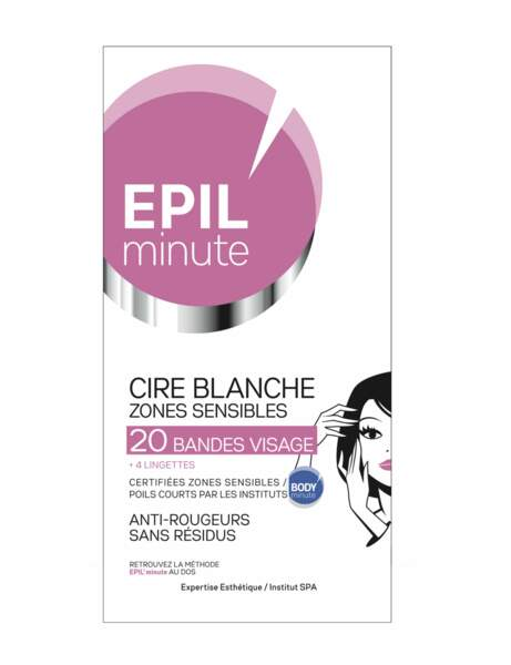 Cire blanche anti-rougeurs