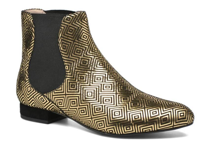 Chaussure de fêtes : la plus géométrique