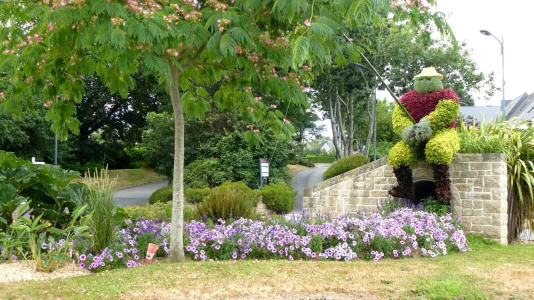 Caudan, dans le Morbihan, passe de 3 à 4 fleurs.