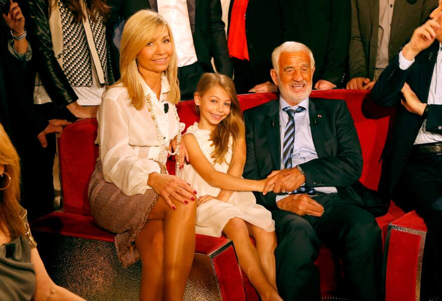 En famille dans l'émission Vivement Dimanche en 2013