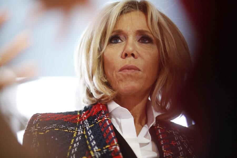 Emmanuel Macron et sa femme Brigitte étaient à l'hôpital Delafontaine en région parisienne.