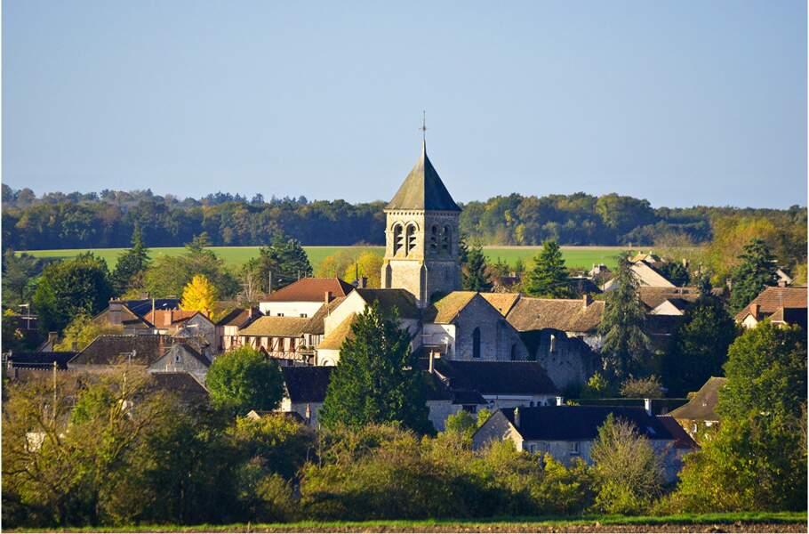 Montchauvet, petit village médiéval des Yvelines qui a inspiré de nombreux peintres et écrivains